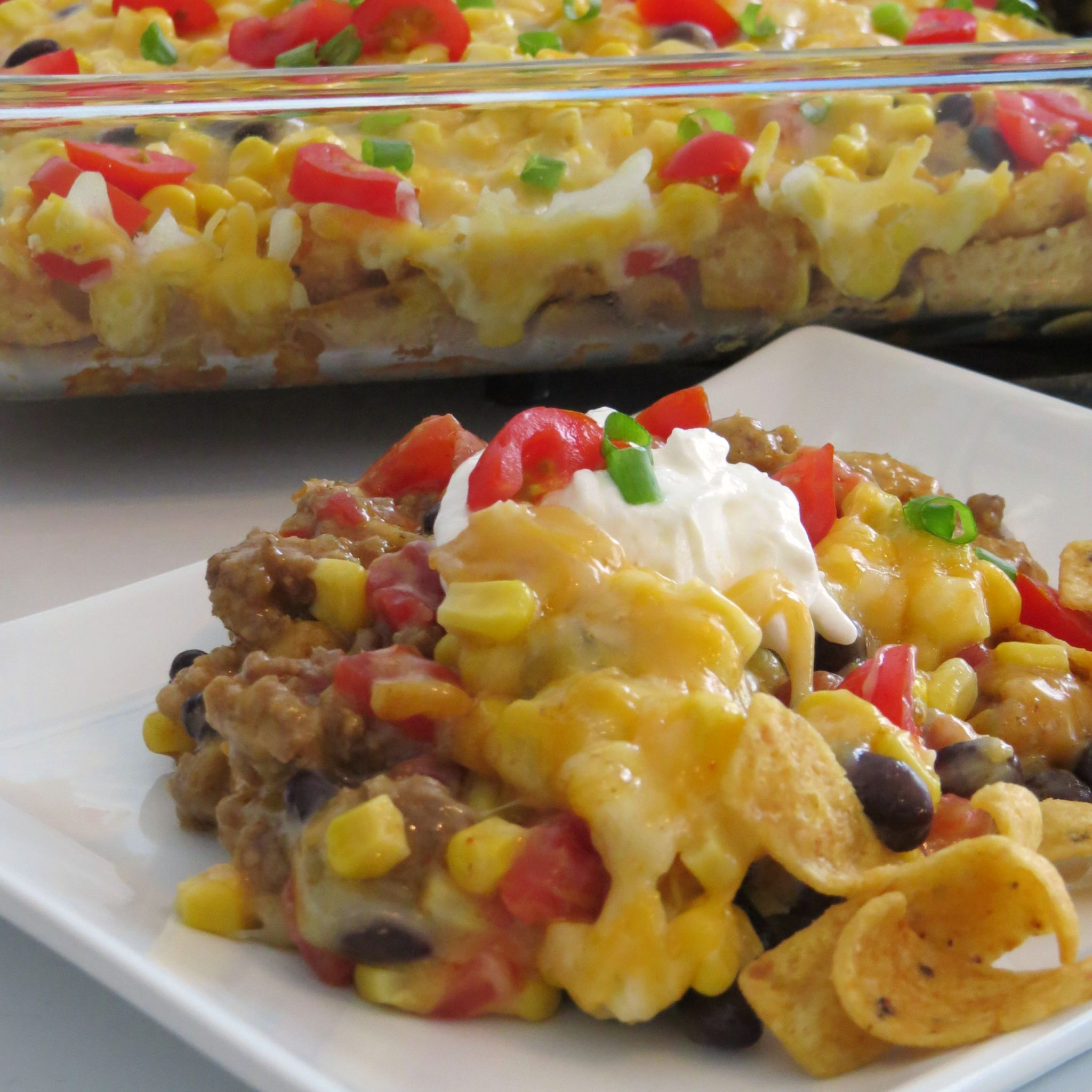 Try This Tex Mex Casserole That's Easy & Delicious