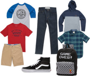 Build a Back to School Wardrobe