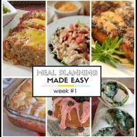 Meal Planning Easy Recipes