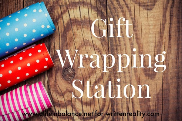 Gift Wrapping Station Written Reality