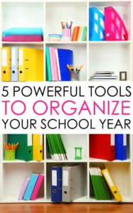 5 Powerful Tools for a Back to School Routine