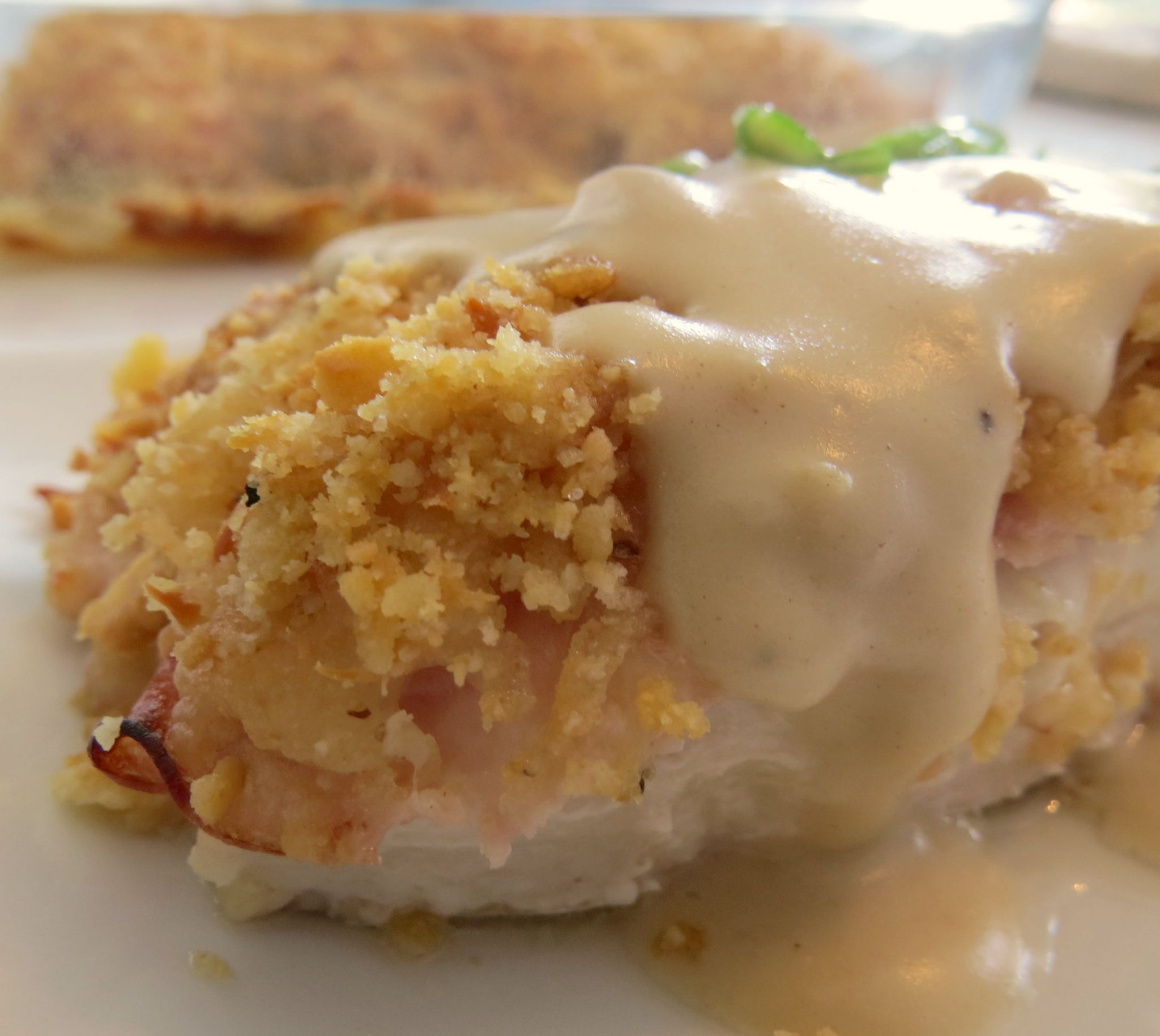Chicken Cordon Bleu Casserole - Written Reality