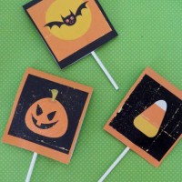 Free printable Halloween treat wrappers