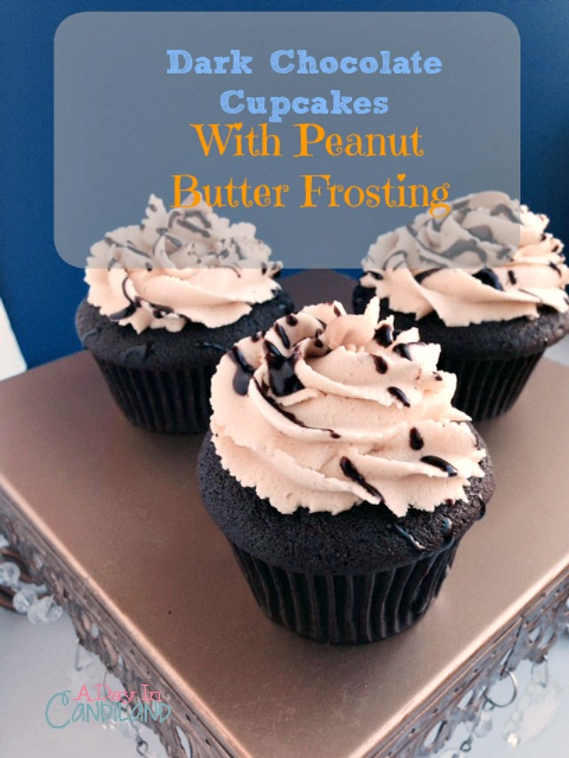 Dark-Chocolate-Peanut-Butter-Cupcakes