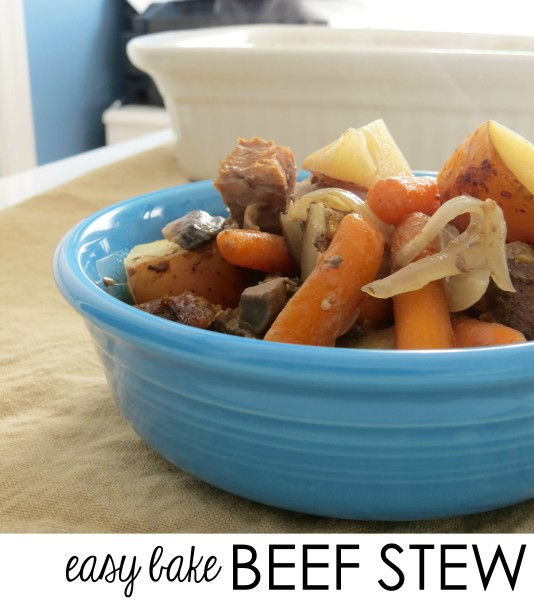 Easy Bake Beef Stew Recipe