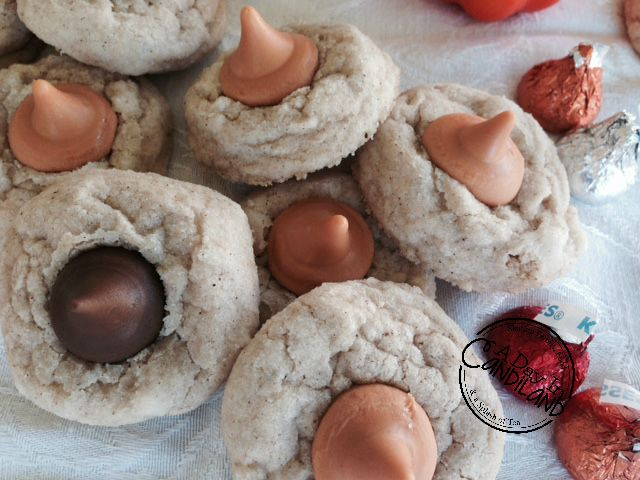 Pumpkin-Spice-Cookies-with-hershey-kisses