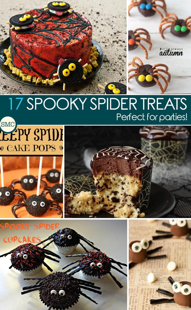 SpookySpiderTreatsPinterest