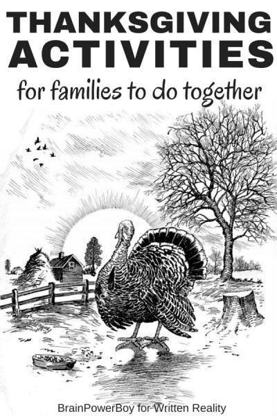 Thanksgiving activities for families to do together