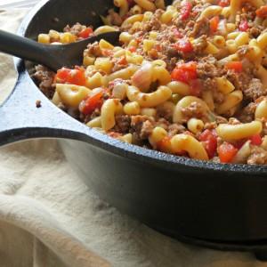 Beefy Pasta Casserole recipe