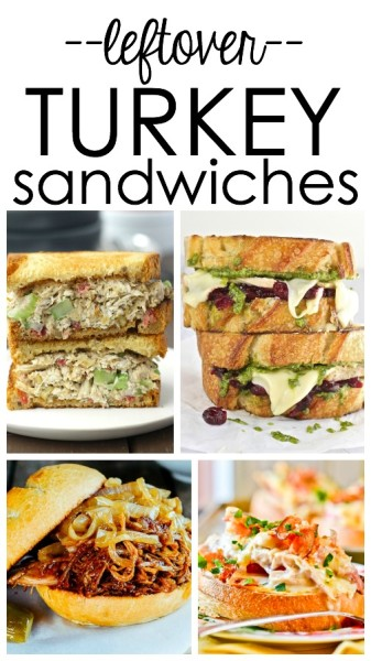 Leftover Turkey Sandwich recipes