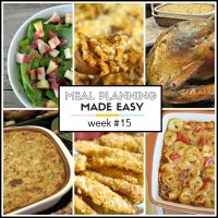 meal planning made easy recipes