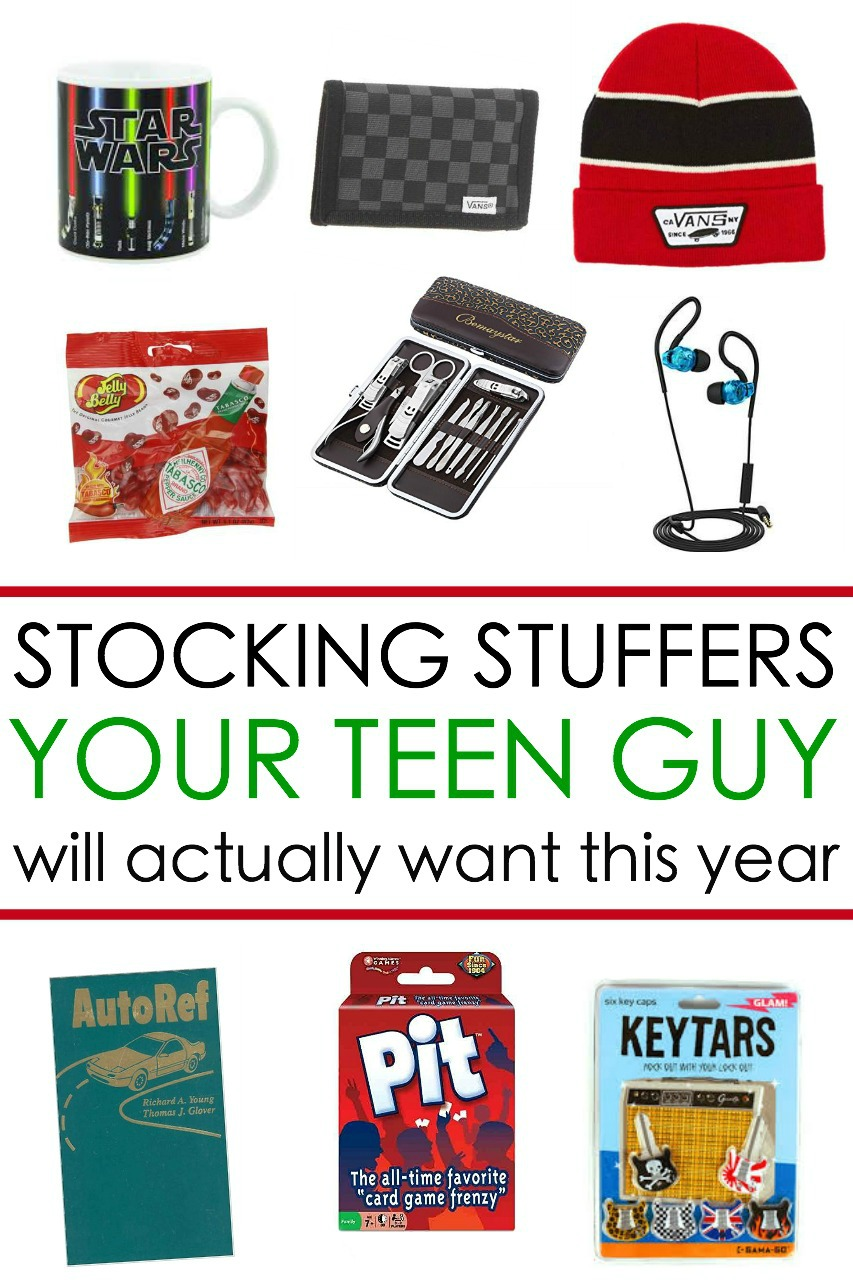 teen boy gift ideas  sc 1 st  Written Reality & 65 Awesome Stocking Stuffers for a Teen Guy: Teen Boy Gift Ideas ...