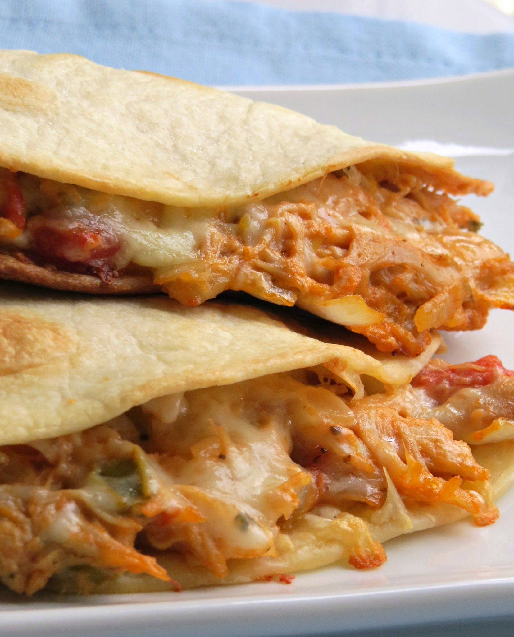 These Cheesy Chicken Quesadillas Are Out Of This World Delicious