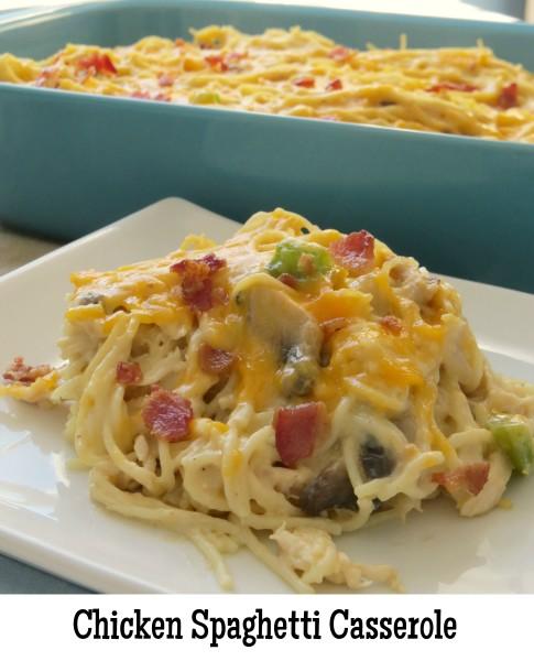 chicken spaghetti casserole3