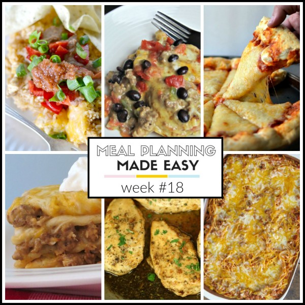 Meal Plan Made Easy recipes