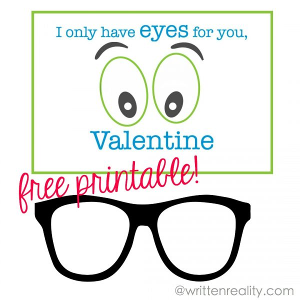 valentine with glasses