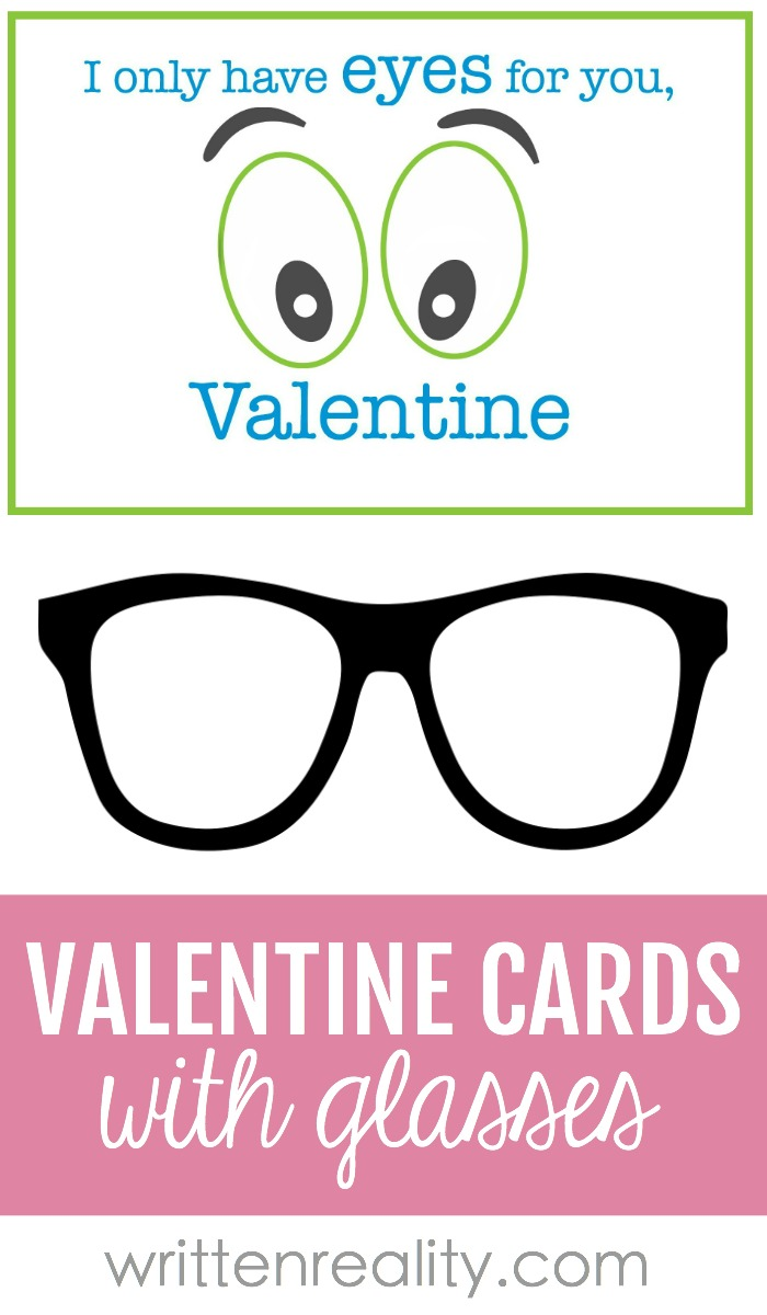 valentine with glasses