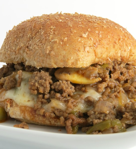Cheesesteak Sloppy Joes