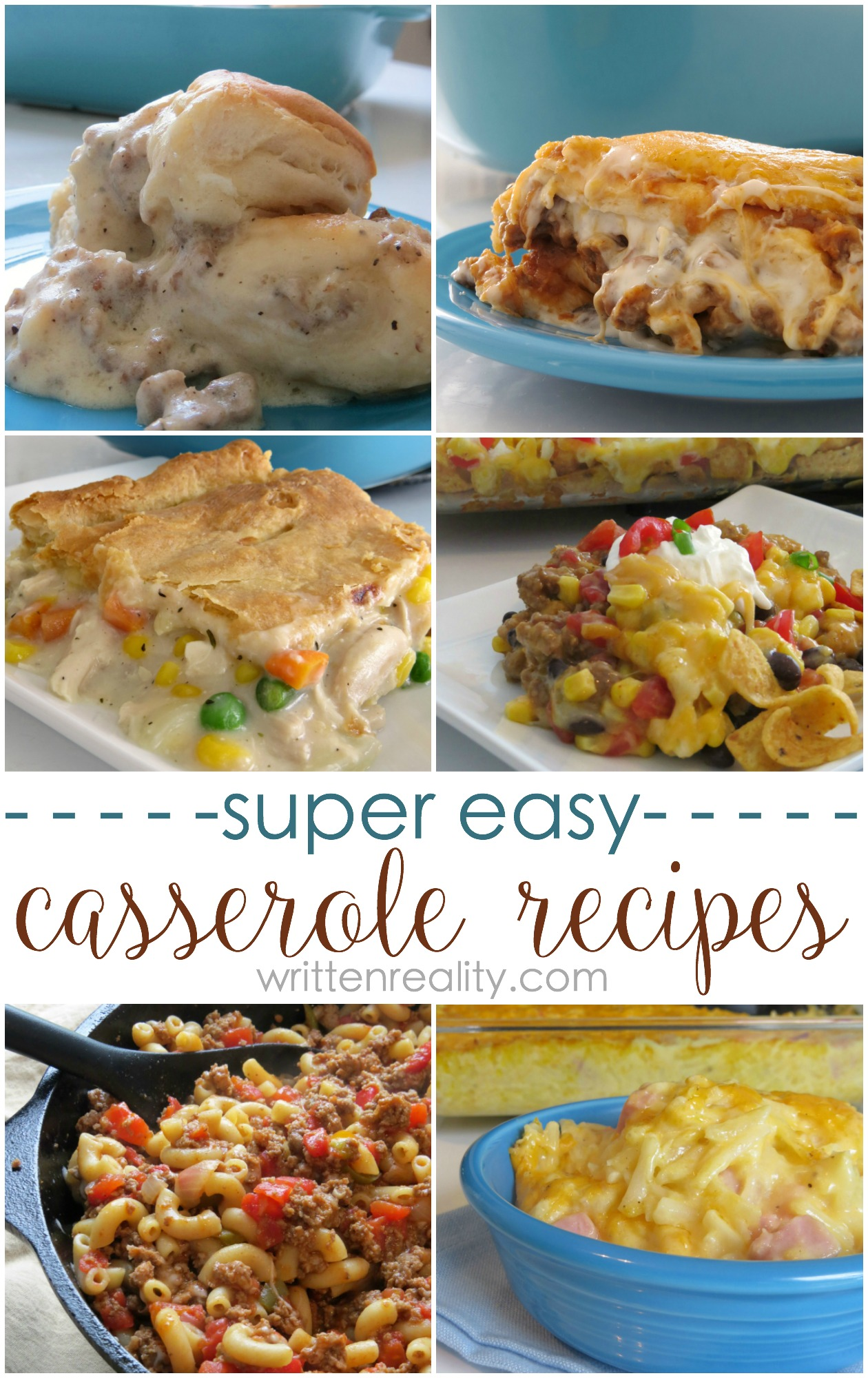 easy dinner casserole recipes