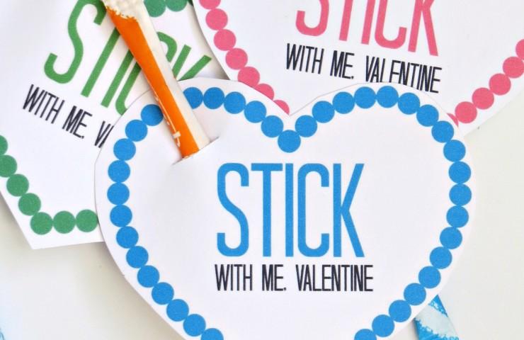 Free Pixy Stix Valentines