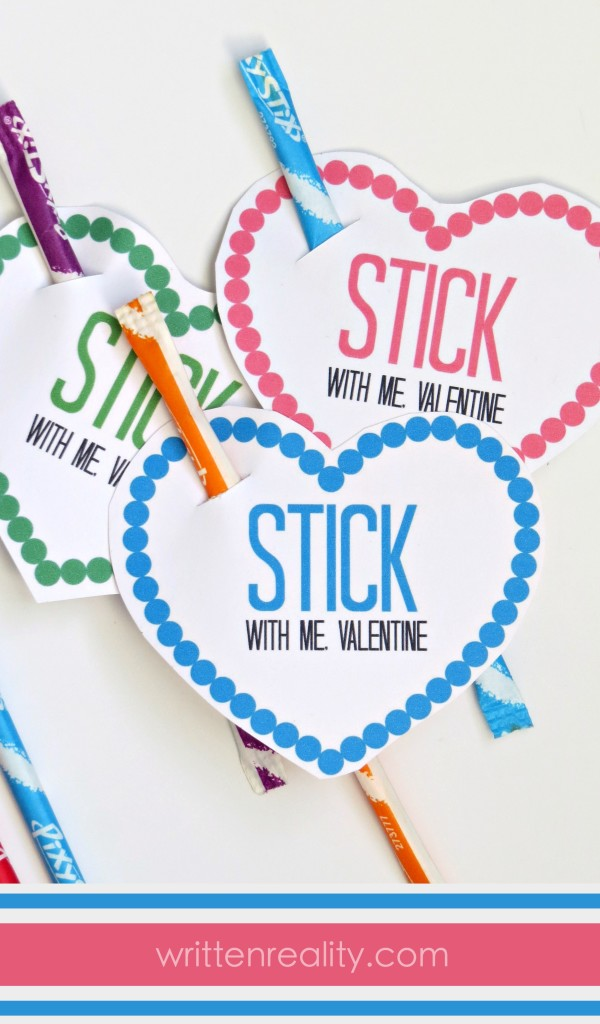 Free Pixy Stix Valentines Written Reality – Print Your Own Valentines Card