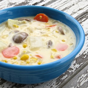 Vegetable Chowder recipe