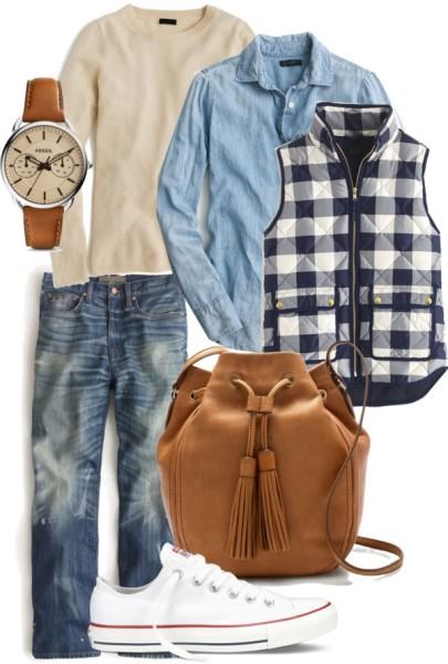 Mom Style Fashion Casual Friday