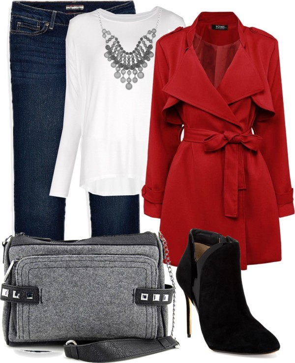 mom style fashion coat