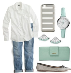Mom Style Fashion Sea Glass