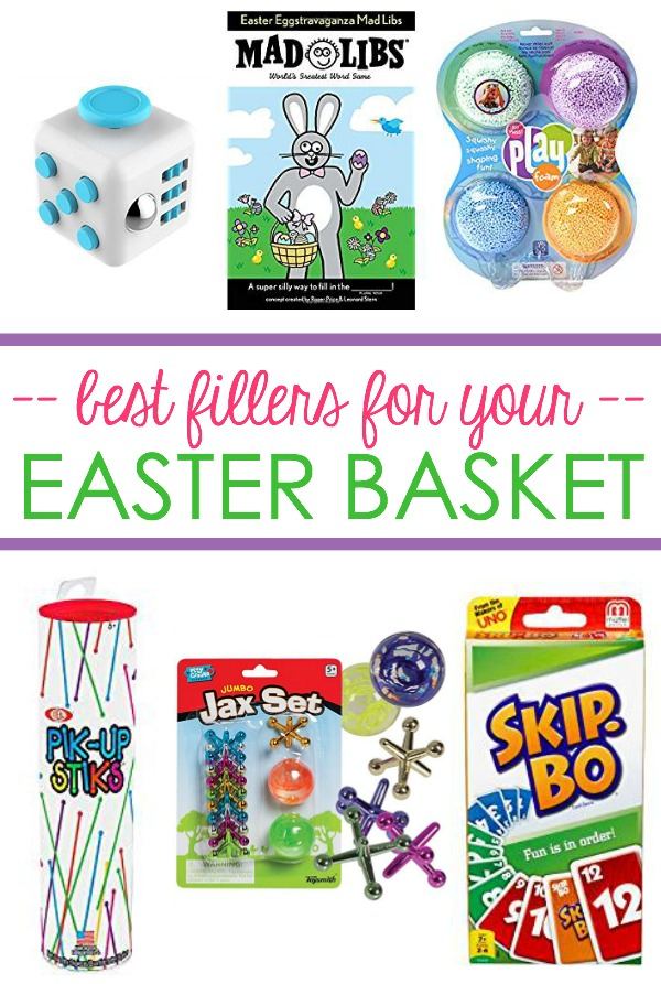 best easter basket fillers