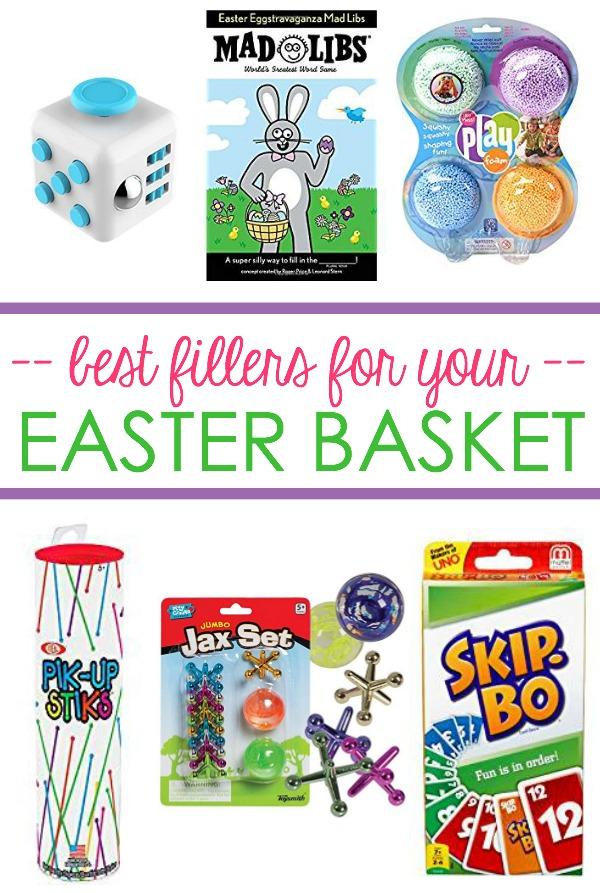 best easter basket fillers