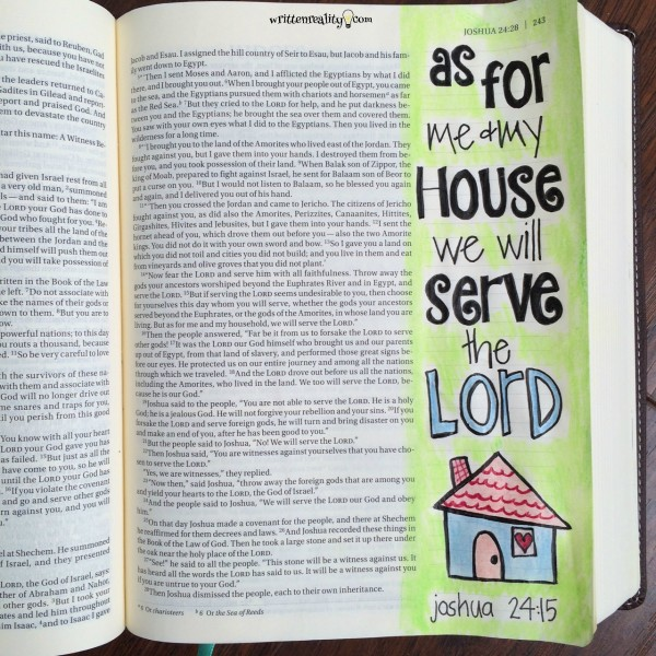 Bible Journaling Beginners
