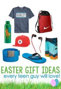 easter basket ideas teen boys