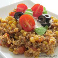 Tex Mex Rice Skillet Recipe