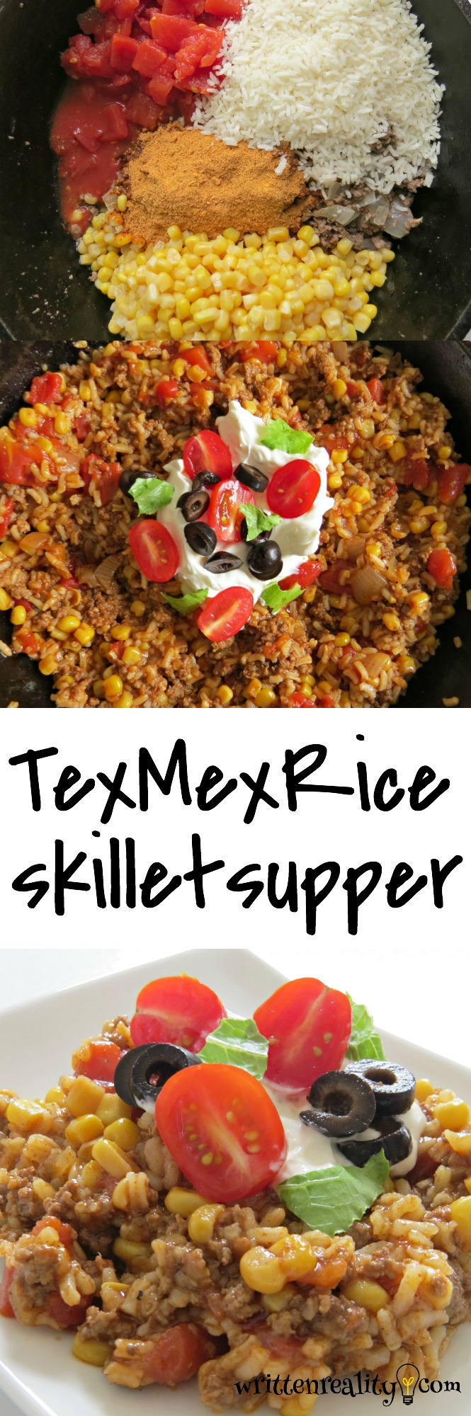 Tex Mex Rice Skillet Recipe