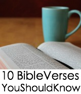 Bible Verses You Should Know