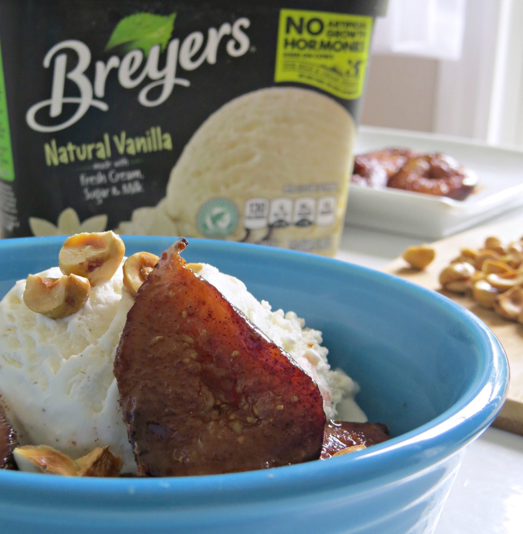 Spiced Figs and Vanilla Ice Cream - Written Reality