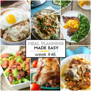 Easy Meal Plan #48