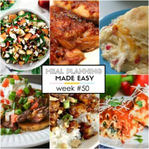 Easy Meal Plan #50