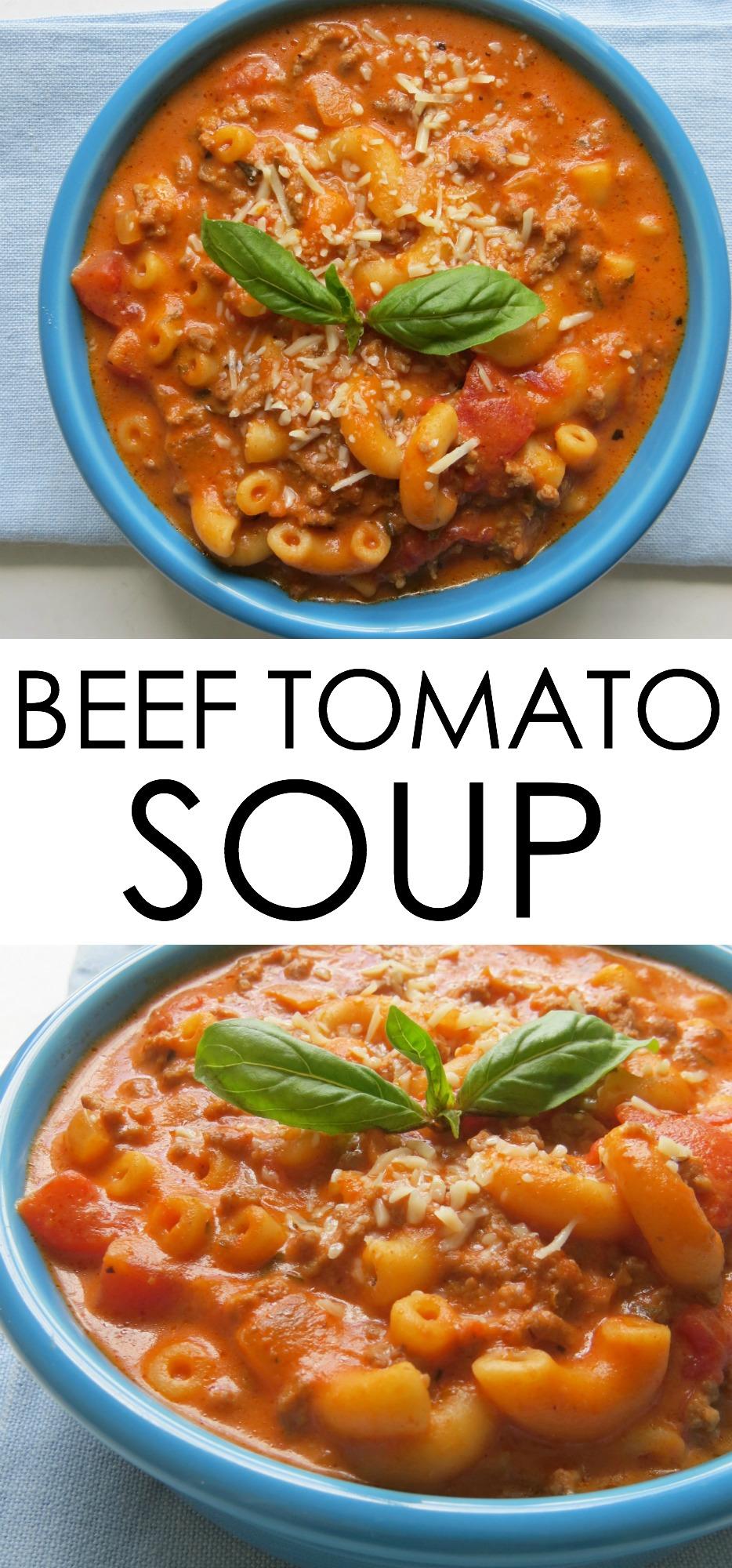 beef tomato soup recipe