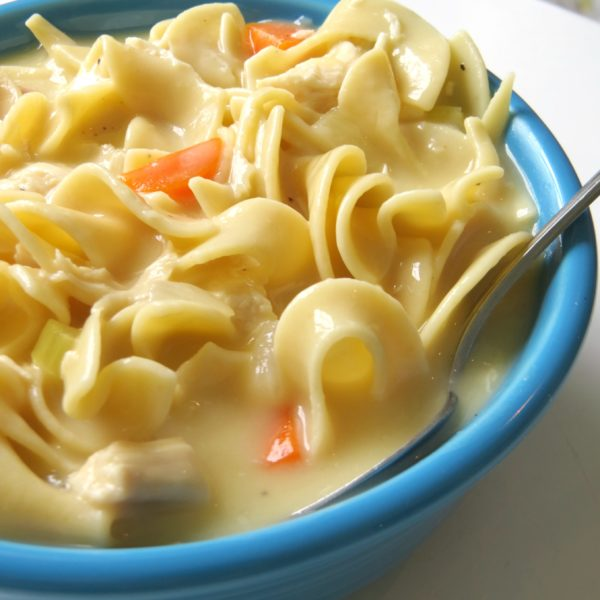 make easy chicken noodle soup