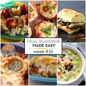 Easy Meal Plan #55