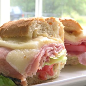 Baked Hot Ham Cheese Sandwiches