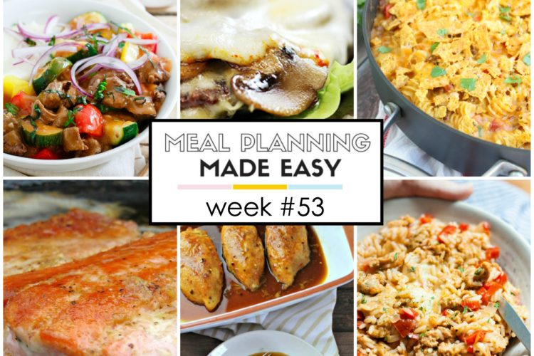 Easy Meal Plan #53