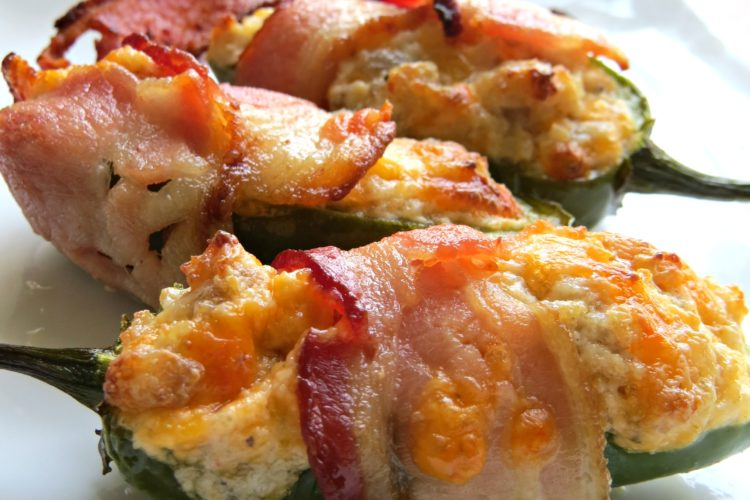 Best Ever Bacon Wrapped Jalapeno Poppers