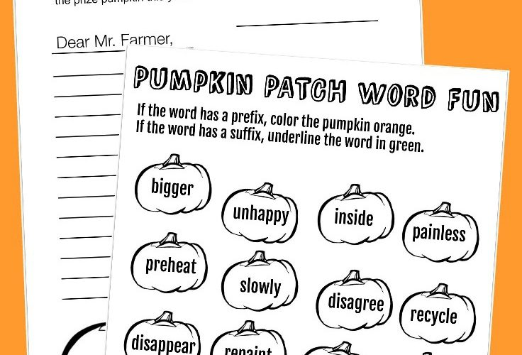 These Printable Pumpkin Worksheets Make Learning Fun!
