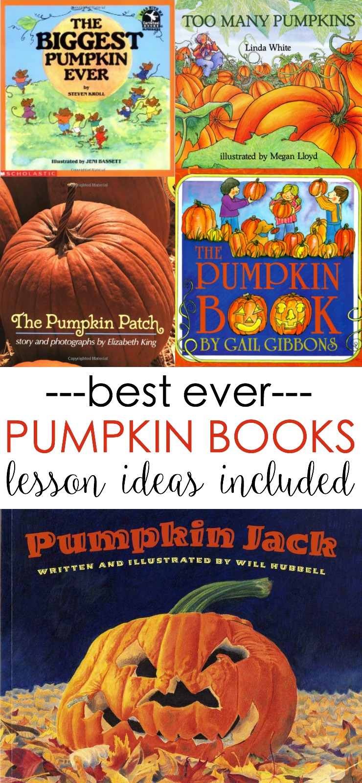 pumpkin picture books