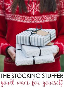 Here's the ONE Practical Stocking Stuffer You'll Want for Yourself