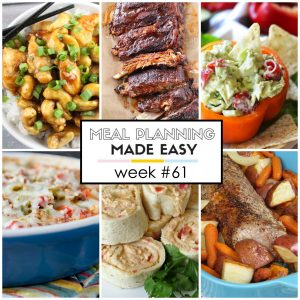 Easy Meal Plan #61