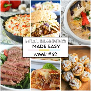 Easy Meal Plan #62